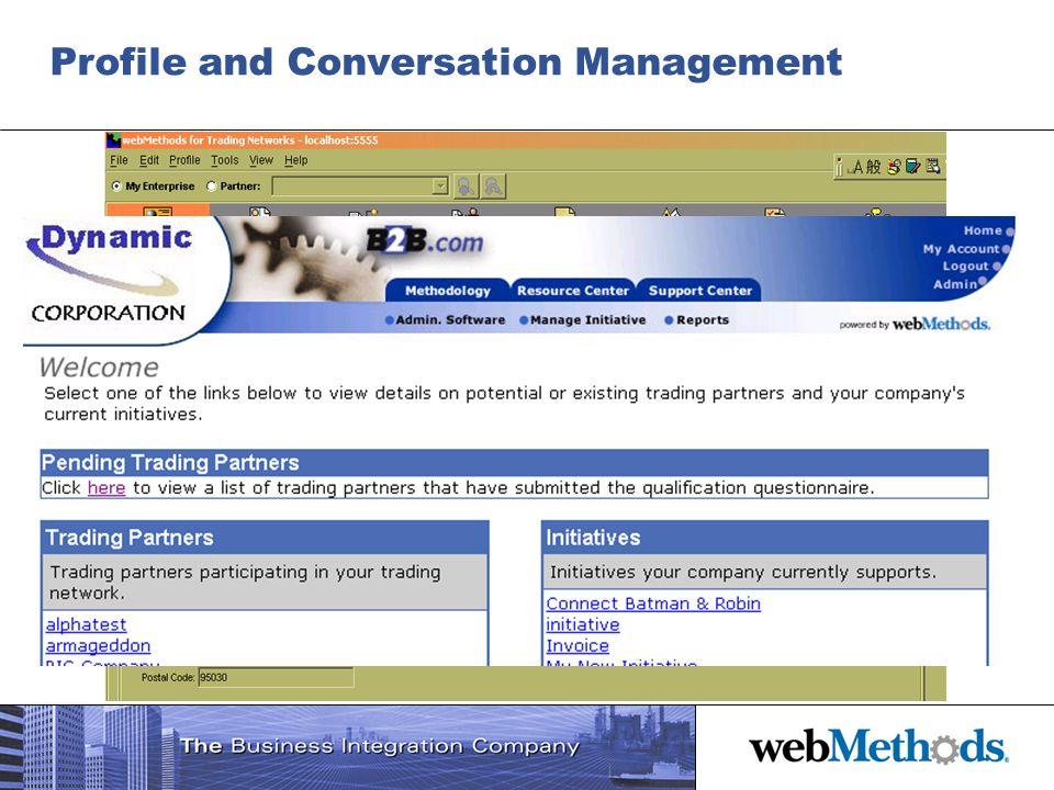 Profile and Conversation Management