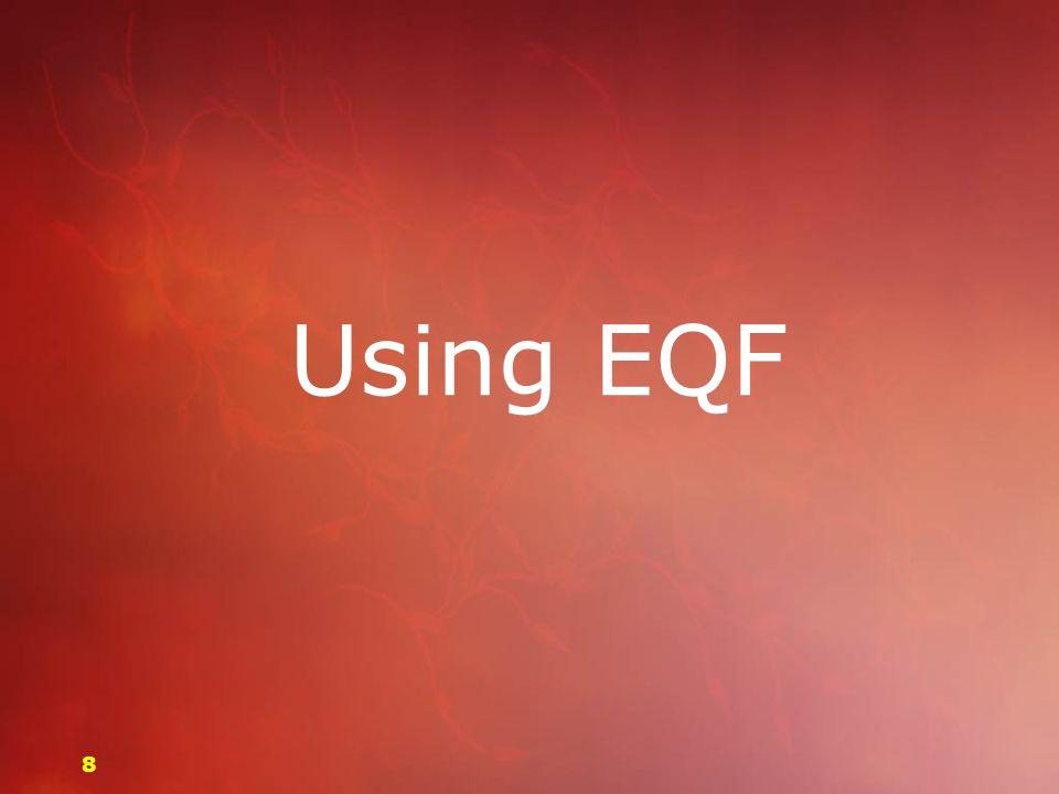 Using EQF 88