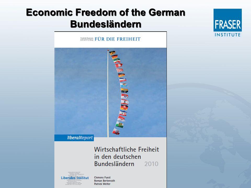 Economic Freedom of the German Bundesländern