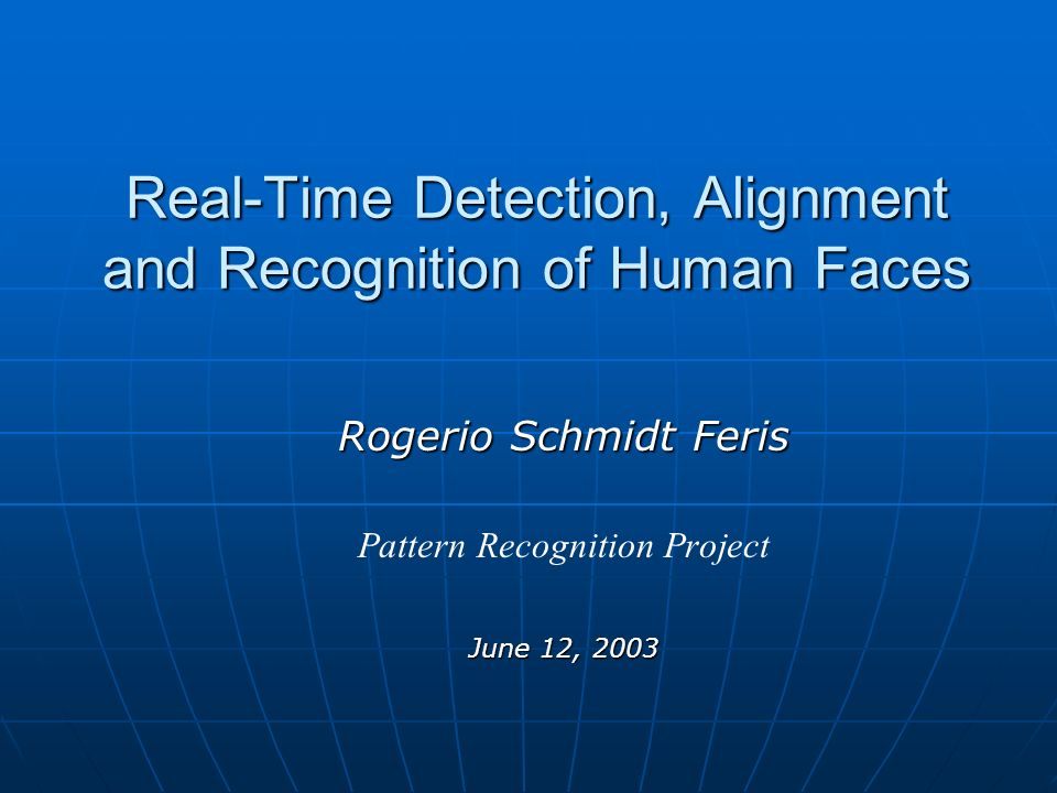 Overview Introduction Introduction FERET Dataset FERET Dataset Face Detection Face Detection Face Alignment Face Alignment Face Recognition Face Recognition Conclusions Conclusions