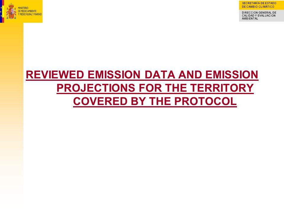 SECRETARÍA DE ESTADO DE CAMBIO CLIMÁTICO DIRECCION GENERAL DE CALIDAD Y EVALUACION AMBIENTAL REVIEWED EMISSION DATA IN THE NATIONAL EMISSION INVENTORY (NEI) NMVOC emissions in absolute values (kt) for the period 1988-2008 according to the last emission inventory are shown in figure below.