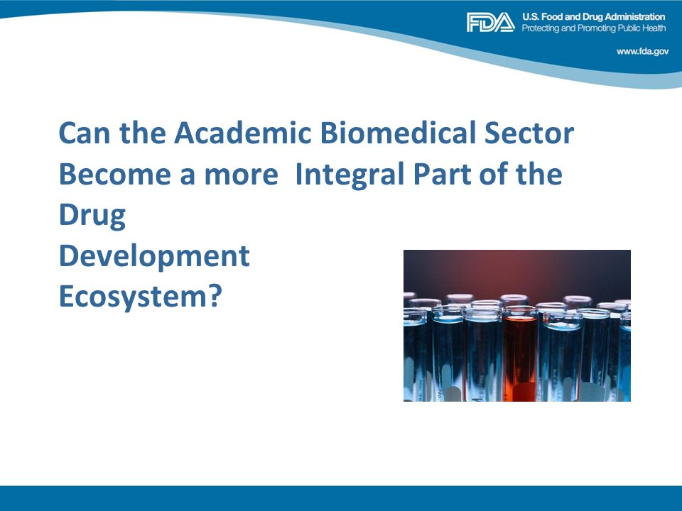 Can the Academic Biomedical Sector Become a more Integral Part of the Drug Development Ecosystem?
