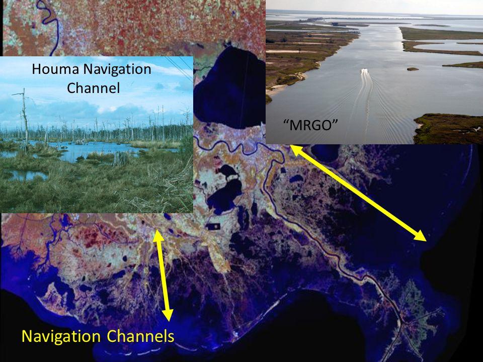 Houma Navigation Channel MRGO Navigation Channels