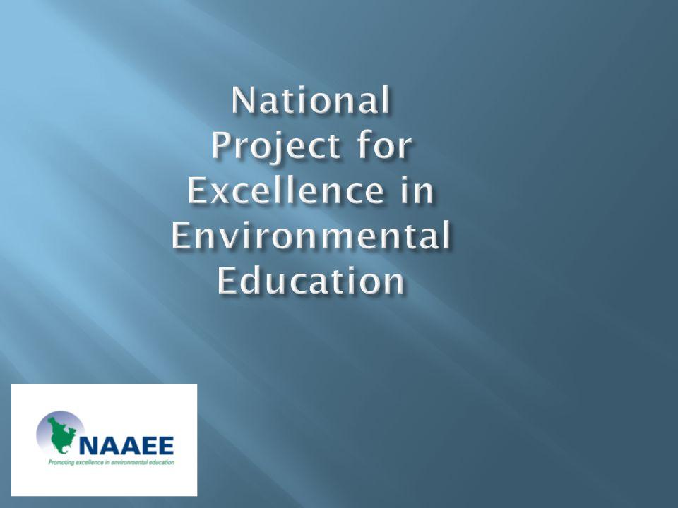 Bora Simmons Bora Simmons National Project for Excellence in EE Ed McCrea Ed McCrea Environmental Education & Conservation Global Bill Seaman Bill Seaman University of Florida
