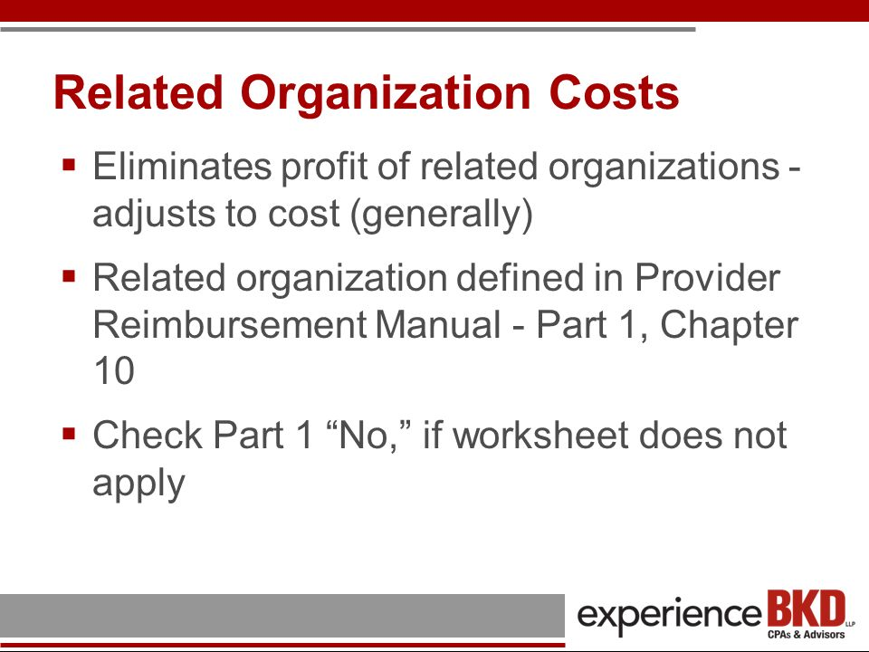 Worksheet B - Parts I & II Visits & Overhead Cost for FQHC Services