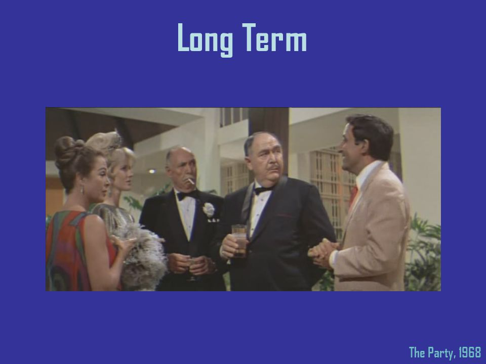 Long Term The Party, 1968
