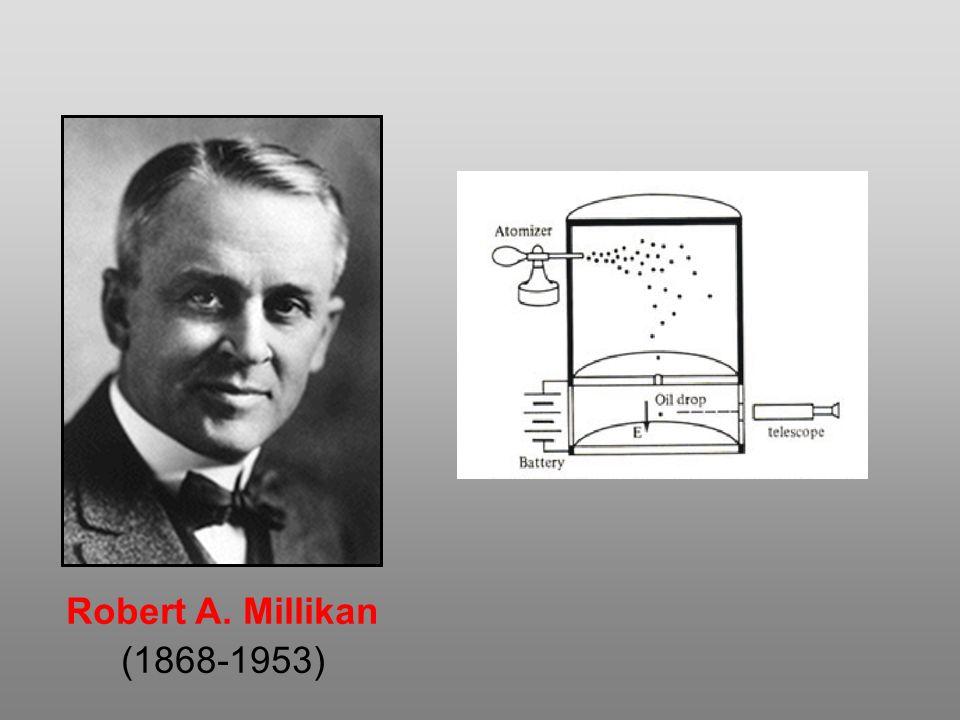 Robert A. Millikan (1868-1953)