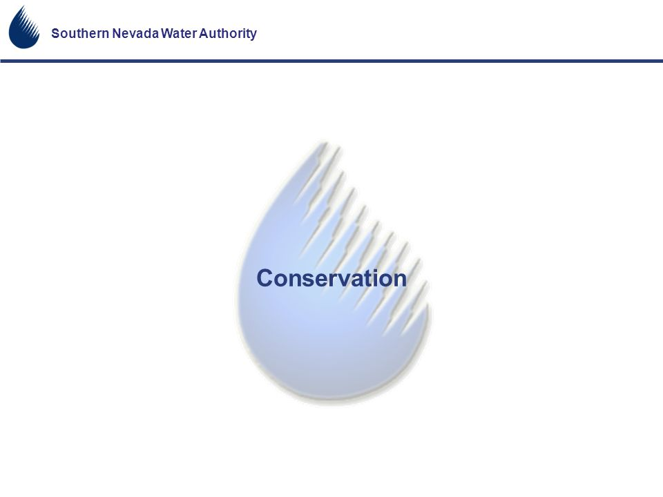 Southern Nevada Water Authority Conservation