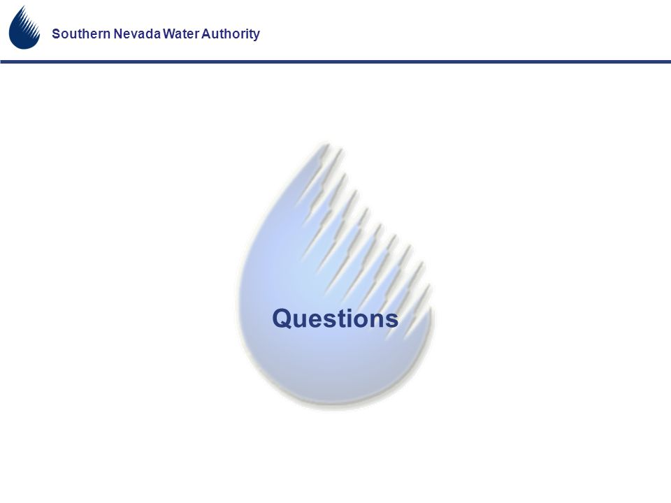 Southern Nevada Water Authority Questions
