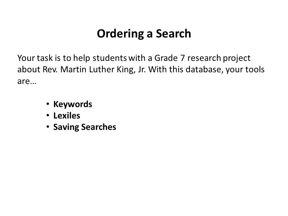 When choosing keywords, think globally and specifically.
