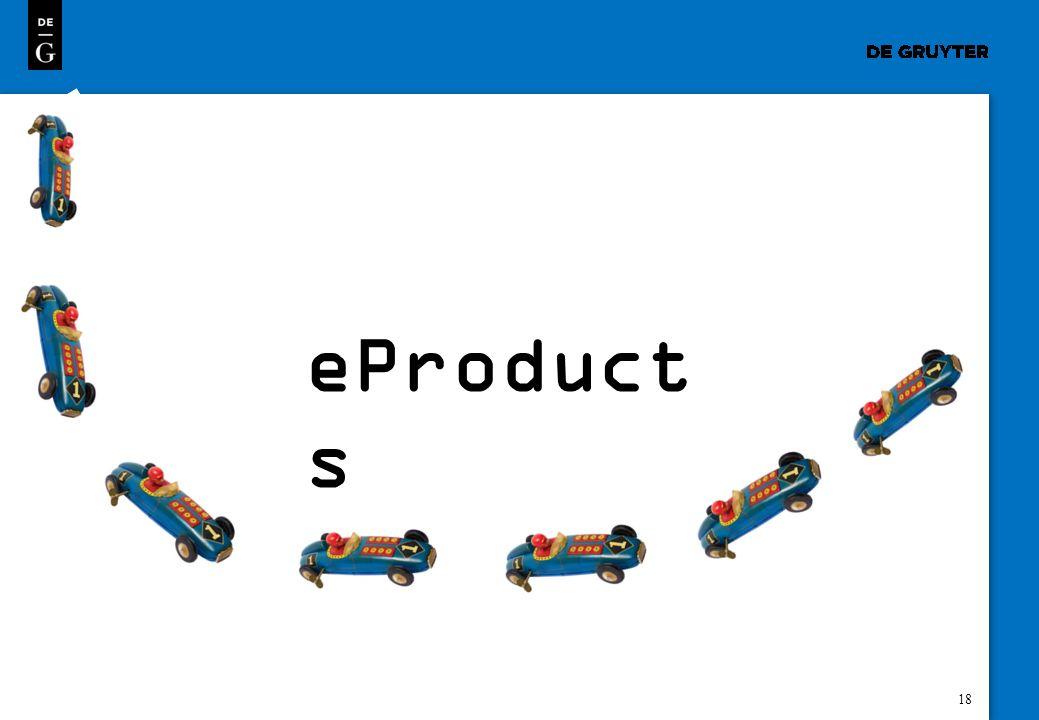 18 eProduct s