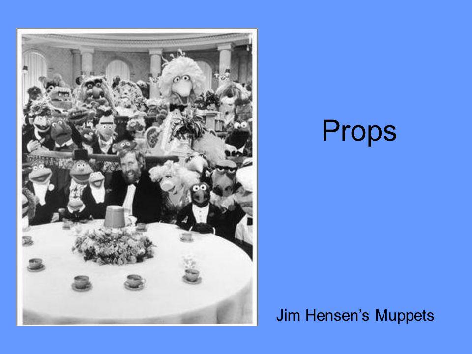 Props Jim Hensens Muppets