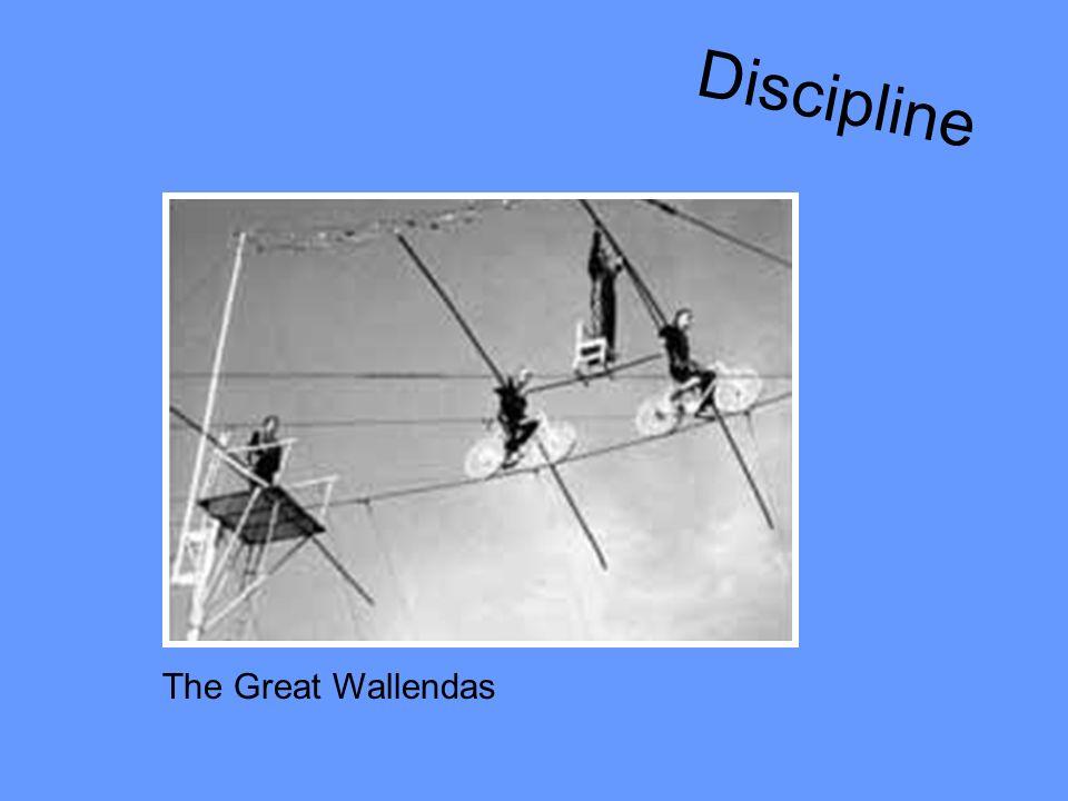 Discipline The Great Wallendas