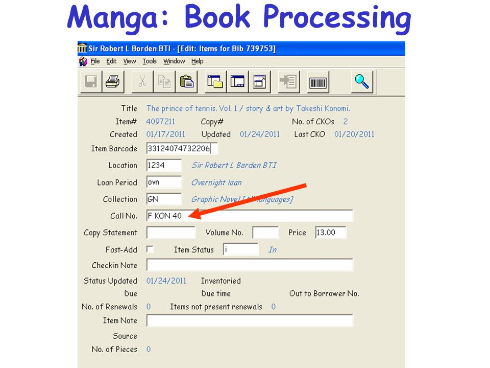 Manga: Book Processing