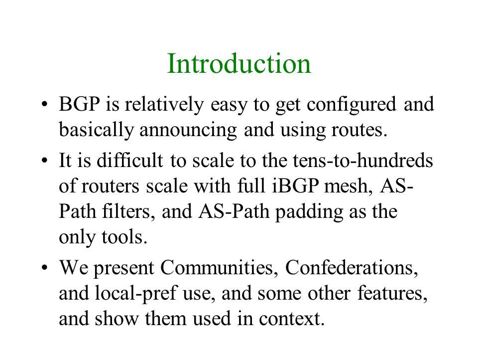 Next-hop IP address to reach a network.