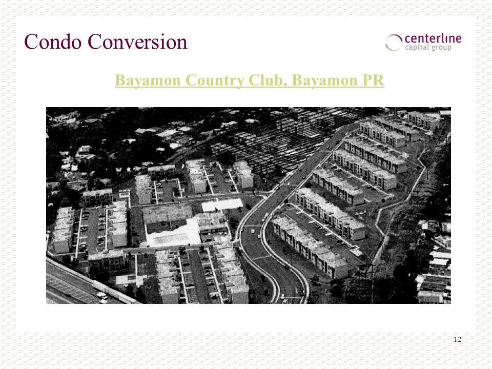 12 Condo Conversion Bayamon Country Club, Bayamon PR