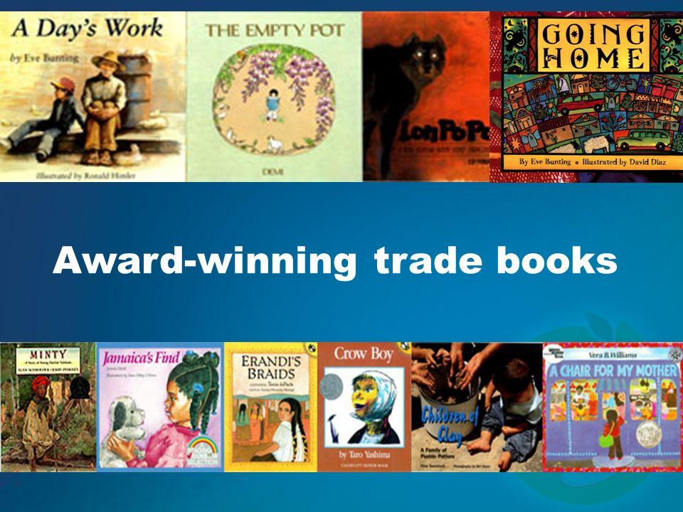 Award-winning trade books