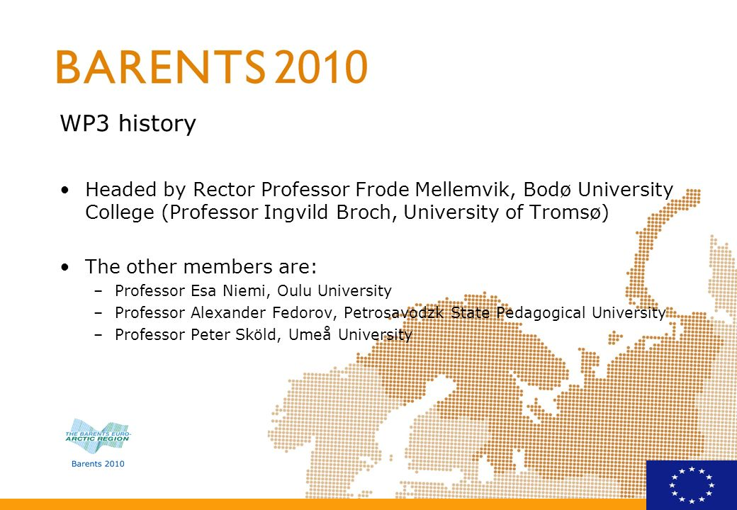 Tasks, results and milestones generate new co-operation projects related to research and higher education in the Barents region.
