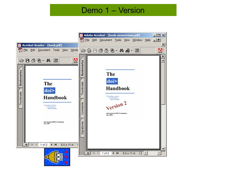 Tool Bar Demo 1 – Version