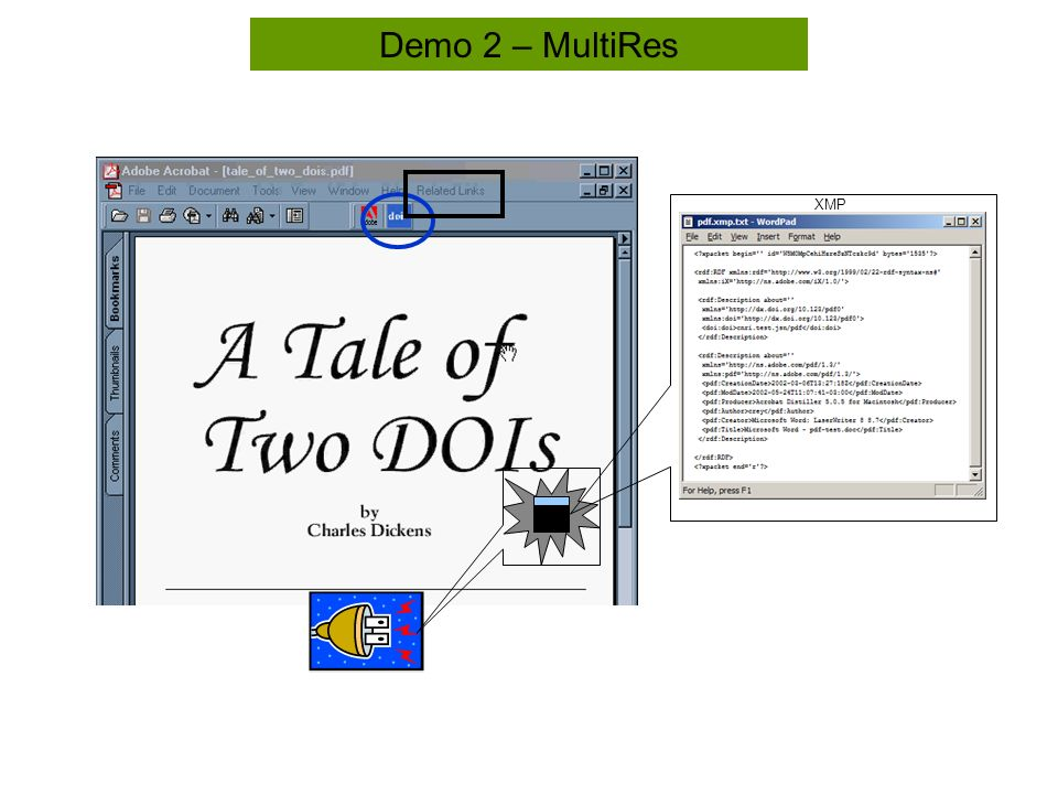 Demo 2 – MultiRes XMP