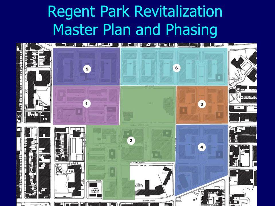 Regent Park Revitalization Master Plan and Phasing