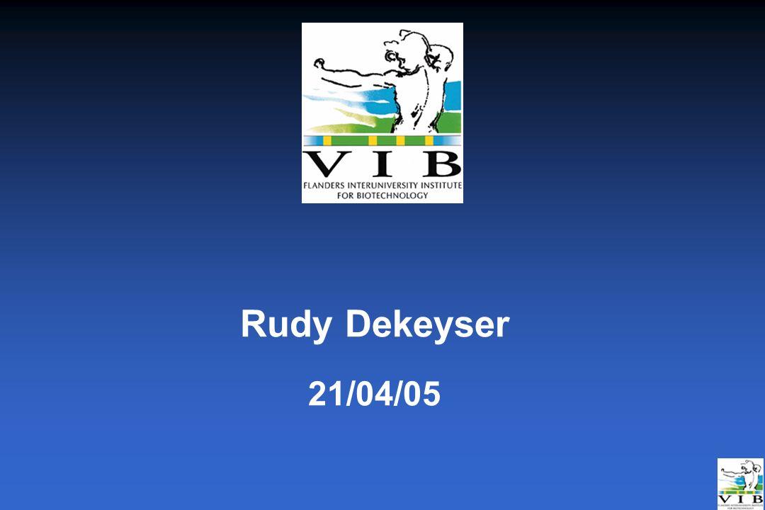 Rudy Dekeyser 21/04/05