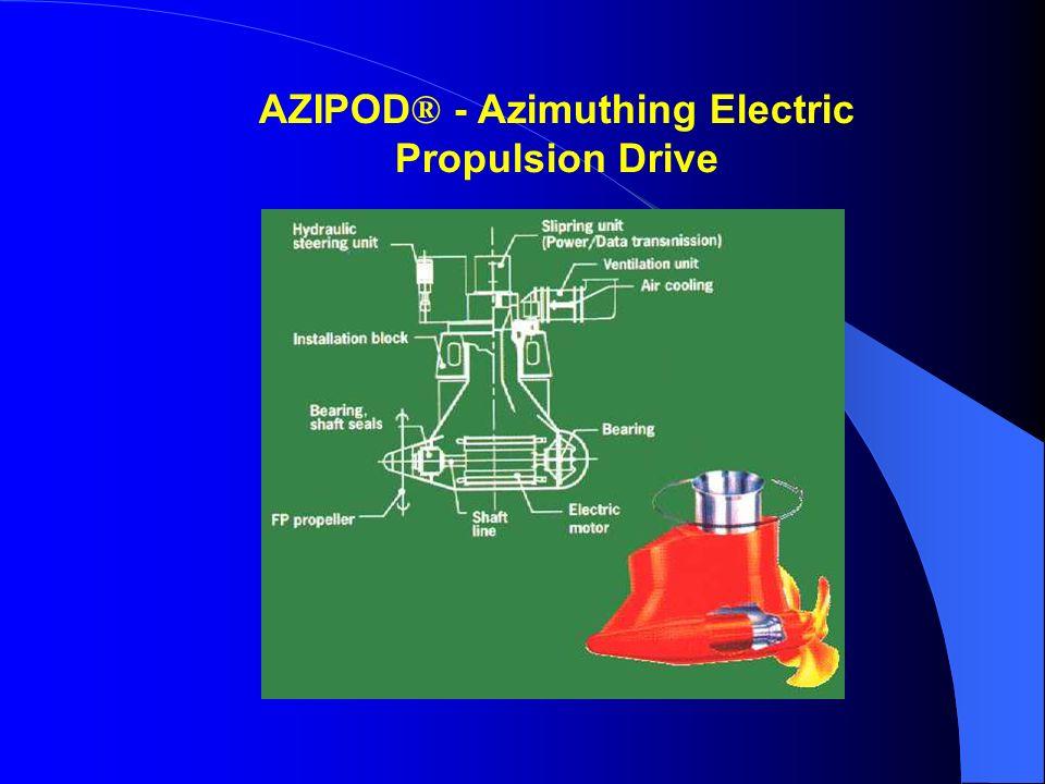 AZIPOD ® - Azimuthing Electric Propulsion Drive