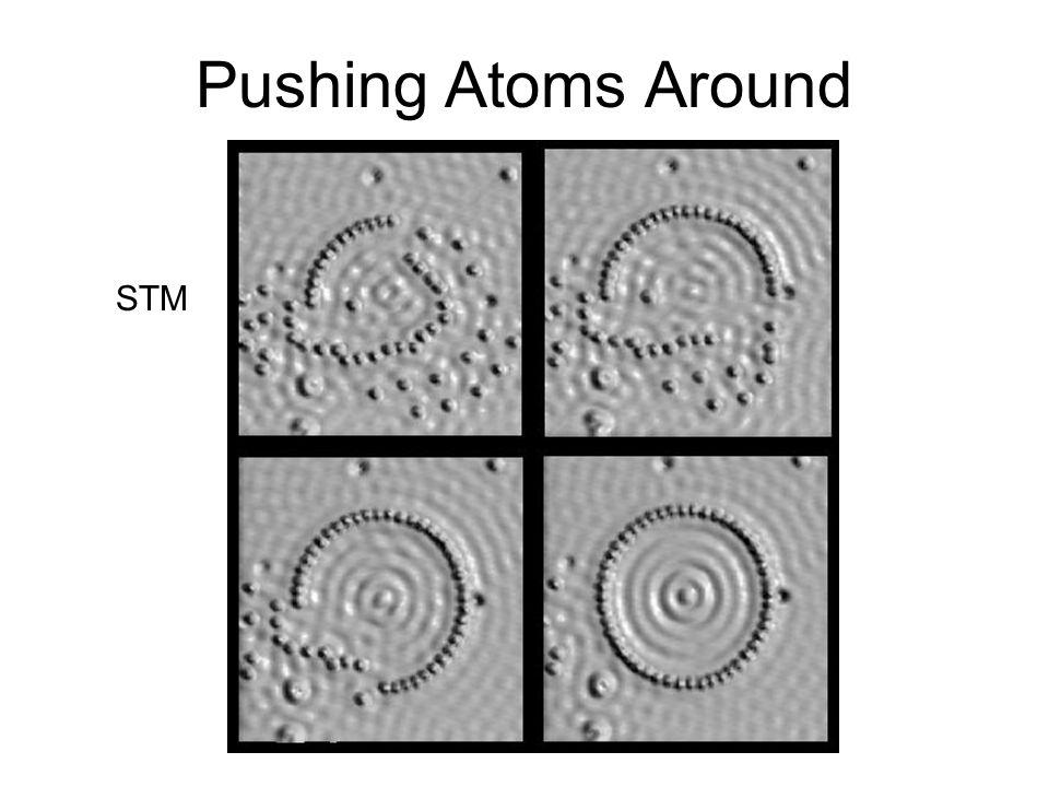 Image of Nickel Atoms STM