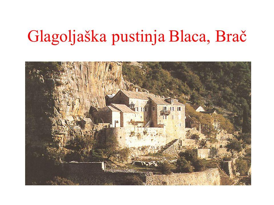 Glagoljaška pustinja Blaca, Brač 15. st. dokumen ti