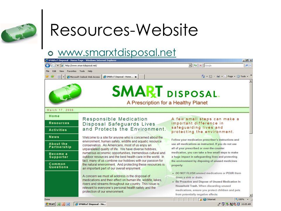 Resources-Website www.smarxtdisposal.net