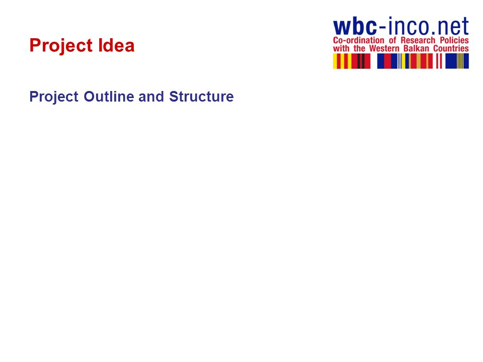 Project Idea Project Outline and Structure
