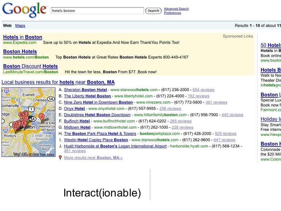 Interact(ionable)