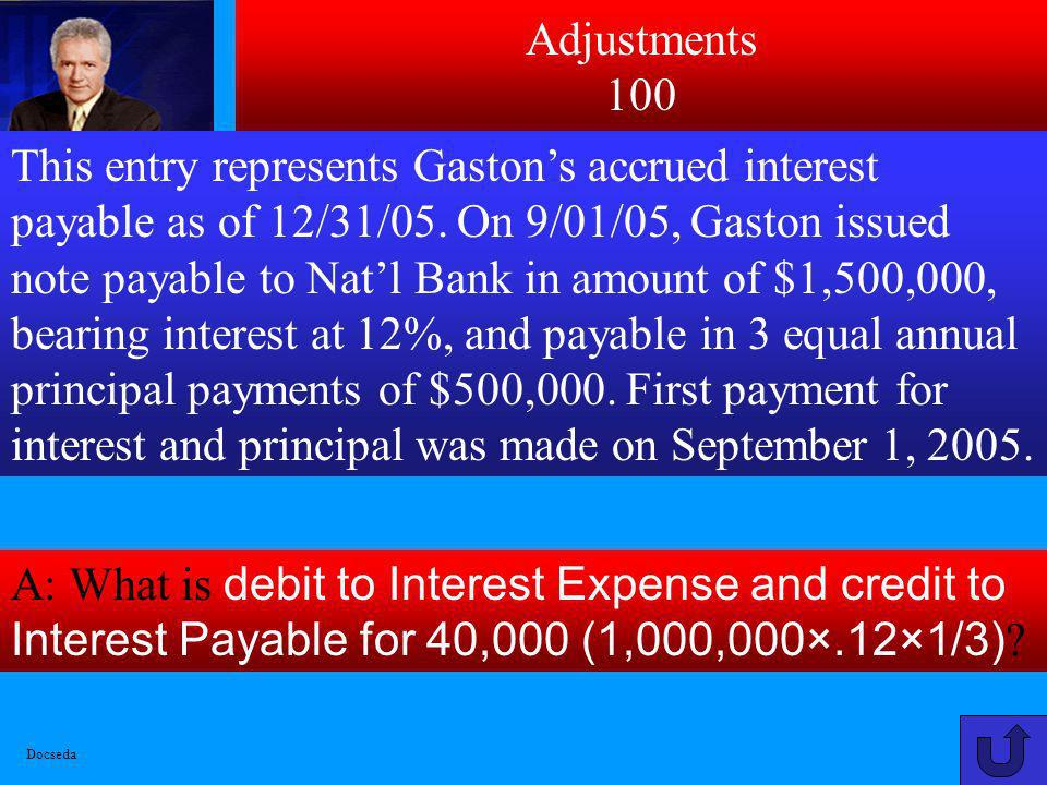 Debit/Credit 500 A: What is a debit to Equipment-New for 9,600, Accumulated Depreciation-Equip. for 48,000, Cash for 5,000 and Credits to Old Equipmen
