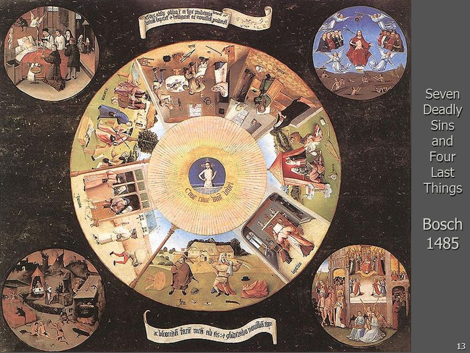 13 Seven Deadly Sins and Four Last Things Bosch 1485