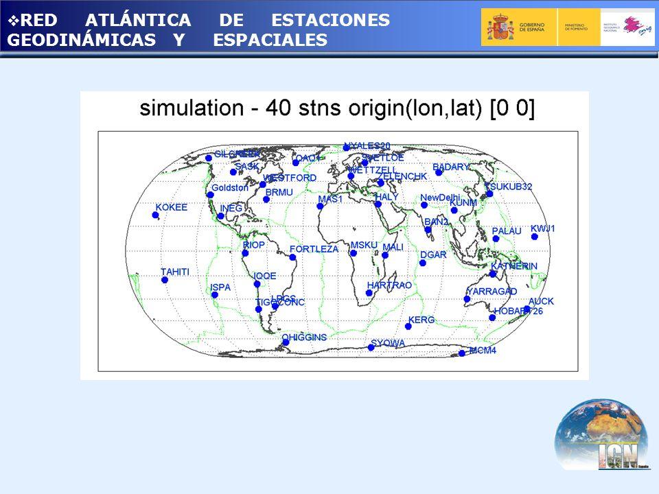 RED ATLÁNTICA DE ESTACIONES GEODINÁMICAS Y ESPACIALES