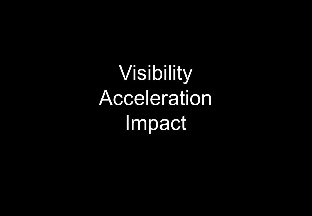 Visibility Acceleration Impact