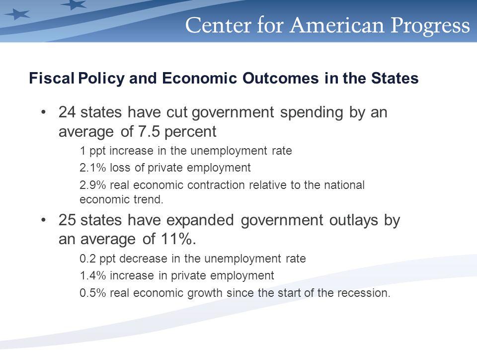 americanprogress.org Spending Cuts Associated w/ Weaker Economies