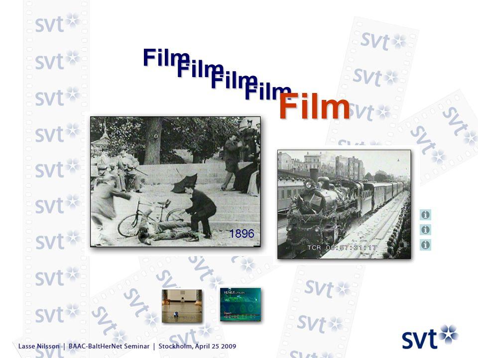 SVT`s organization and archives Since 1925 Since 1978 NEWS