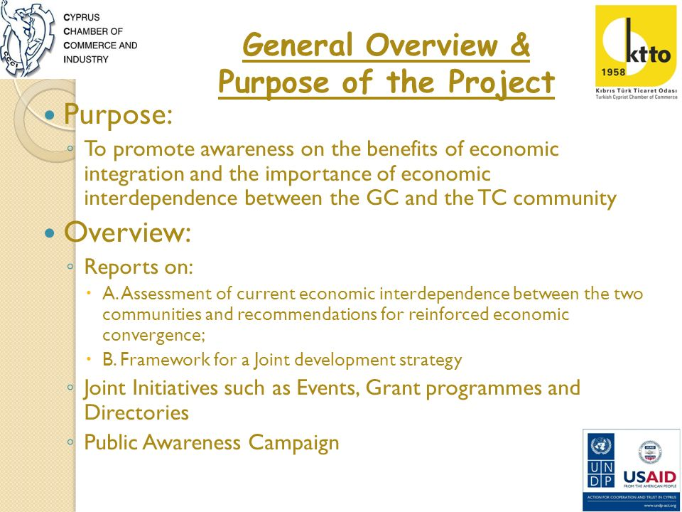 Bi-communal Business Partnership Grant Programme Purpose: To bring business people from the G/C and the T/C communities together enabling them to set up a bi-communal joint business partnership Total Available Funds are 192.000 Max Grant contribution per application is 38.400 (excluding VAT) Only one application per partnership is permitted The actual Grant depends on eligible costs If the eligible costs are less than 38.400 then the lesser amount will be paid Applicants are free to contribute matching funds if their costs exceed max.