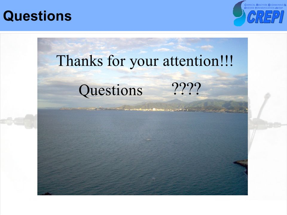 Questions Thanks for your attention!!! Questions ????