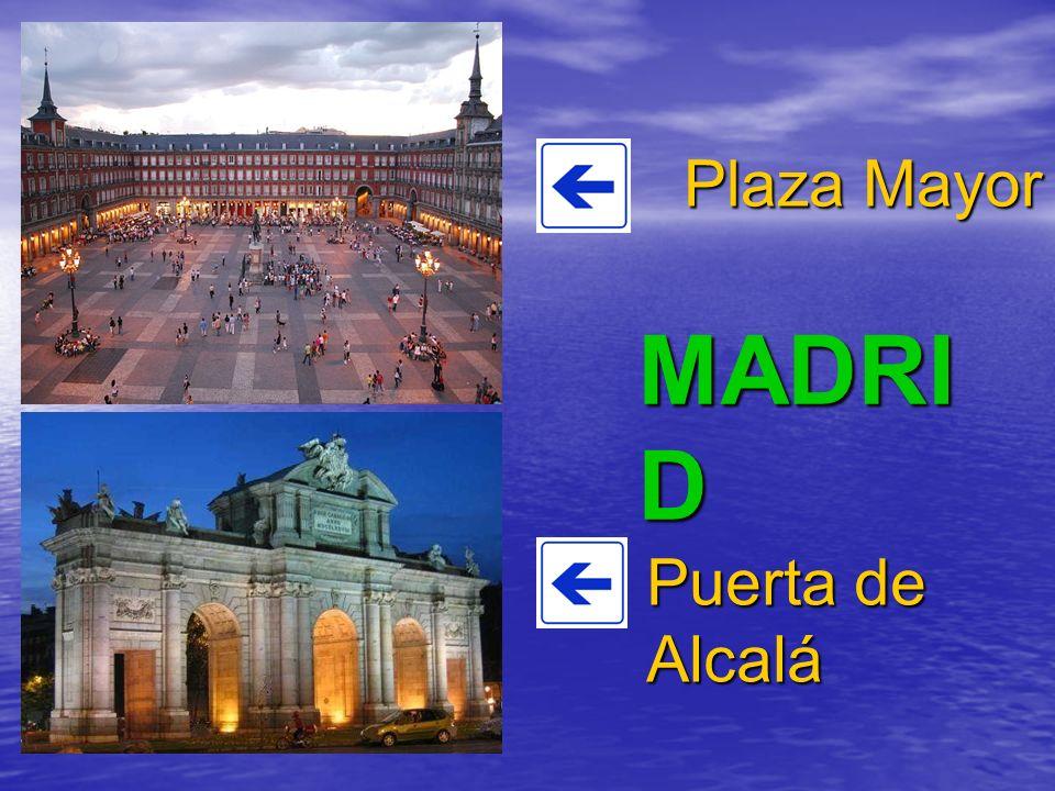 MADRI D Plaza Mayor Puerta de Alcalá