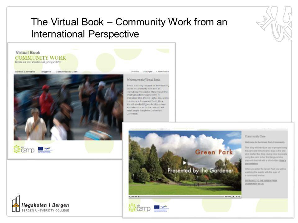 The Virtual Book – Community Work from an International Perspective