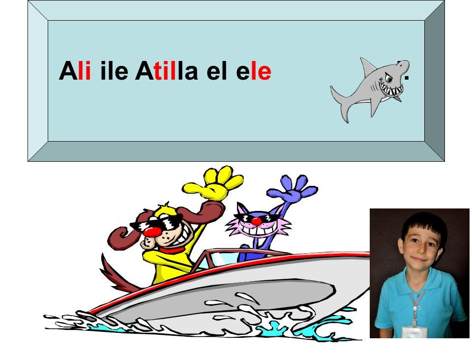 Ali ile Atilla el ele al.