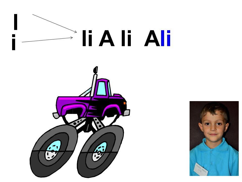 l i li A li Ali