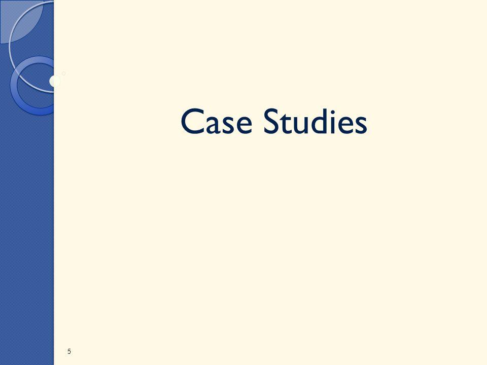 Case Studies 5