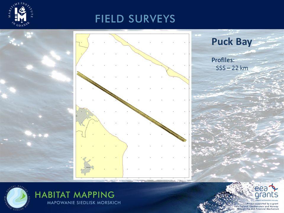 Puck Bay Profiles: SSS – 22 km