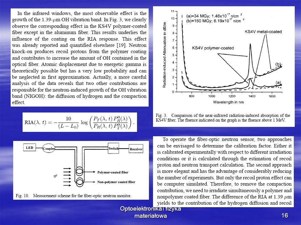 Optoelektronika i fizyka materiałowa16