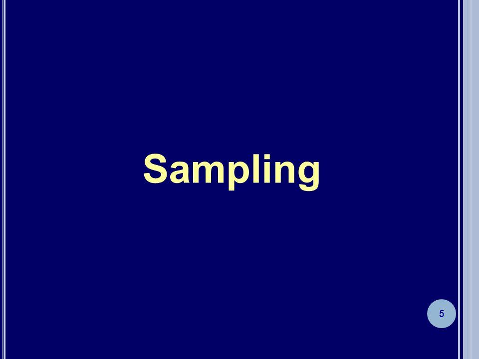 5 Sampling