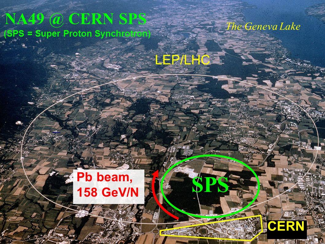 Andrzej Rybicki, Kraków, 6 Feb 2007 NA49 @ CERN SPS (SPS = Super Proton Synchrotron) The Geneva Lake LEP/LHC CERN Pb beam, 158 GeV/N SPS