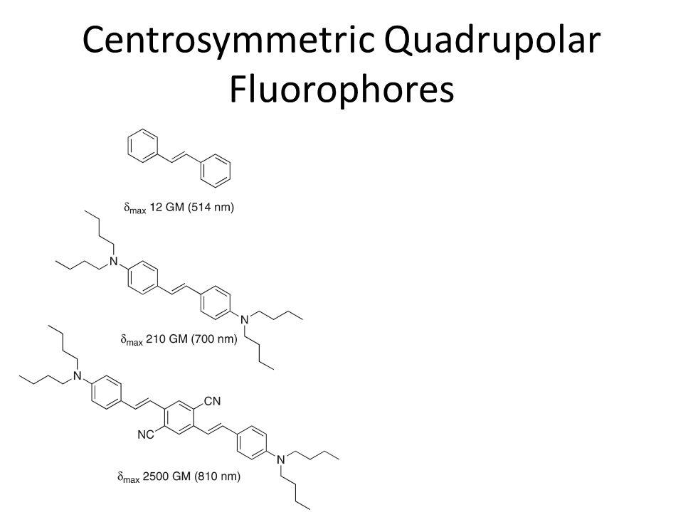 Centrosymmetric Quadrupolar Fluorophores